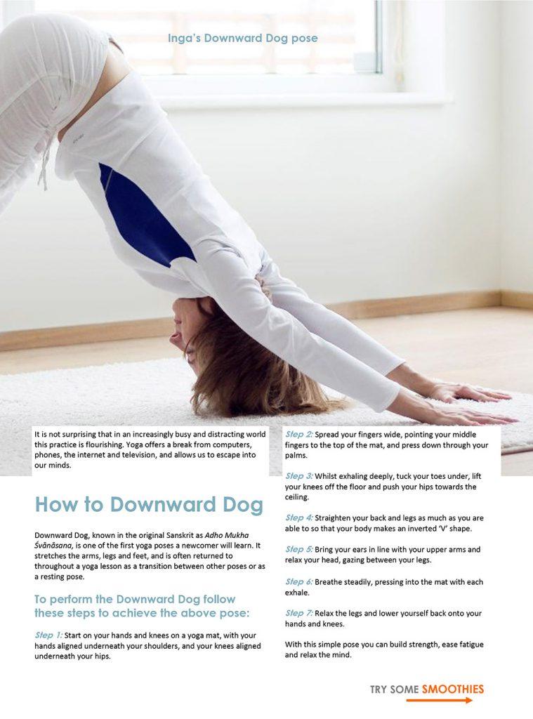 How to downward dog - Yoga studio Surya