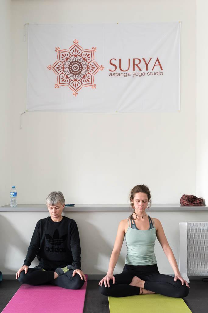 Garrigues Aštanga Joga seminaras Jogos studijoje Surya